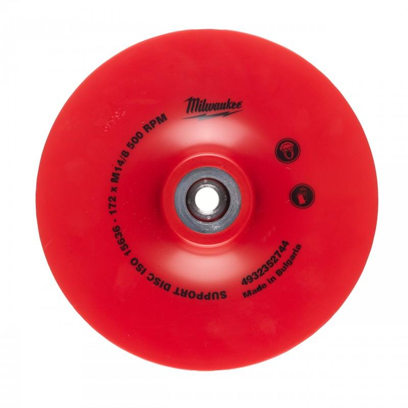 Гибкая опорная тарелка УШМ 170х22,2мм (1 шт)